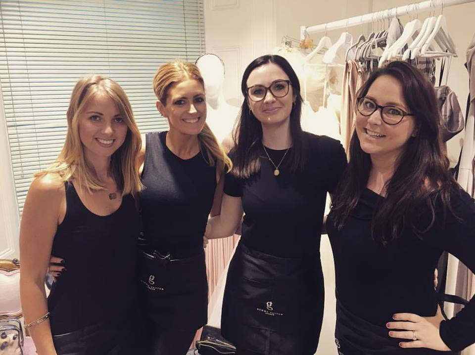 Gemma with Miss Sunshine, Miss Fairytale & Miss Blue Lily from our Pro Team together for a wedding hair and makeup trial