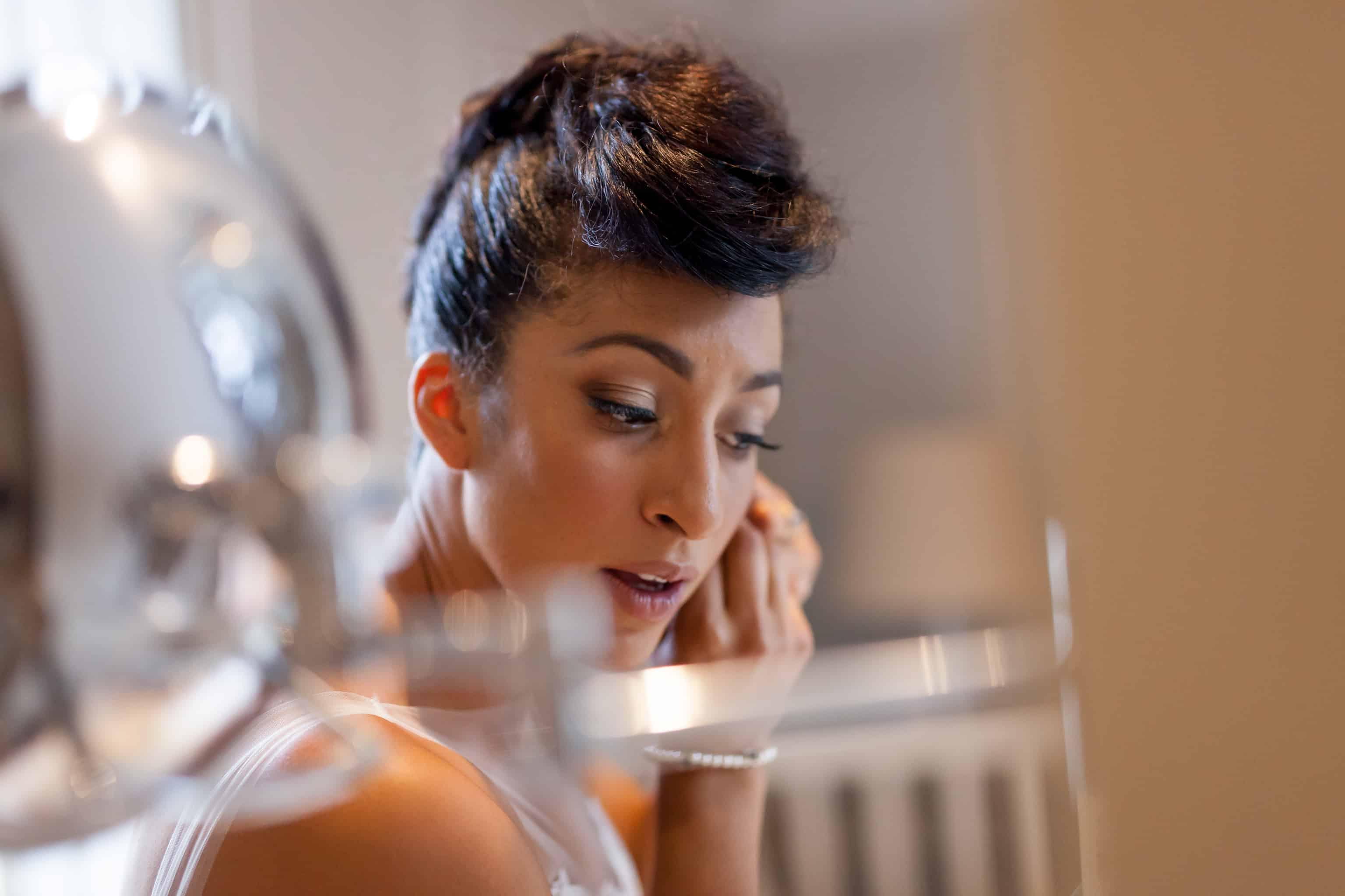 Beautiful Bridal Makeup By Miss Diamond @ Gemma Sutton.