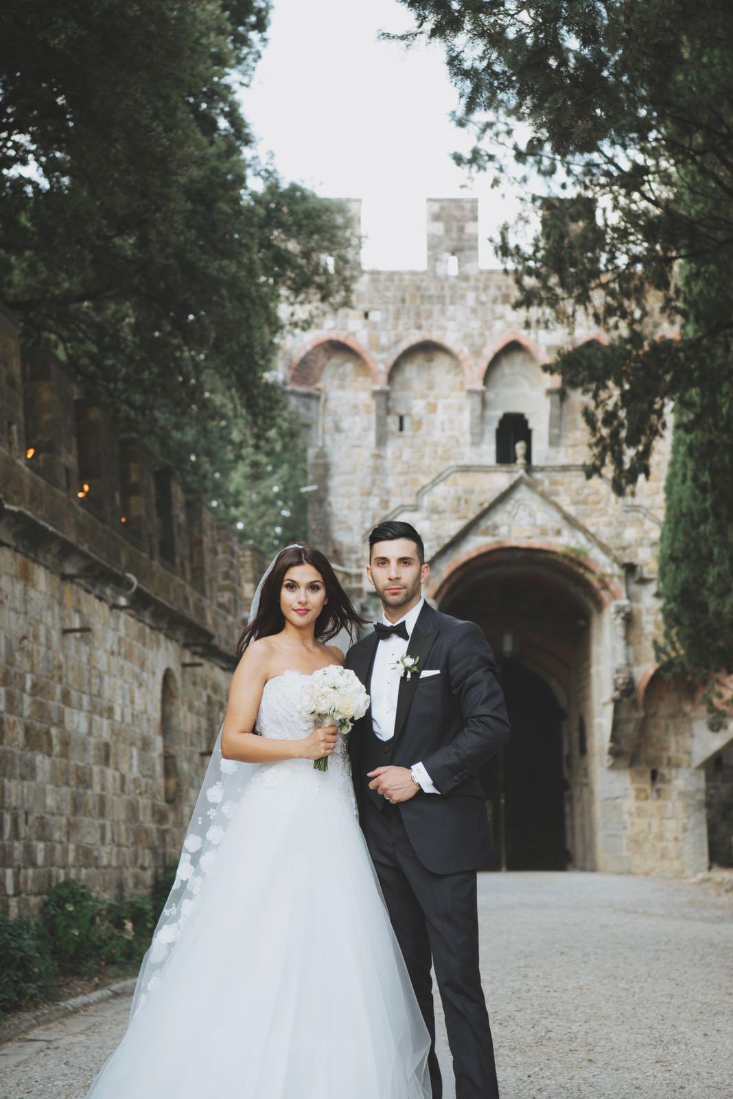 Italy Wedding couple - Gemma Sutton Pro Team