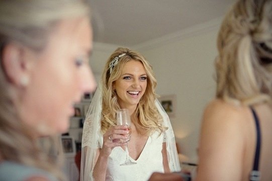 gorgeous loose bridal boho waves xx