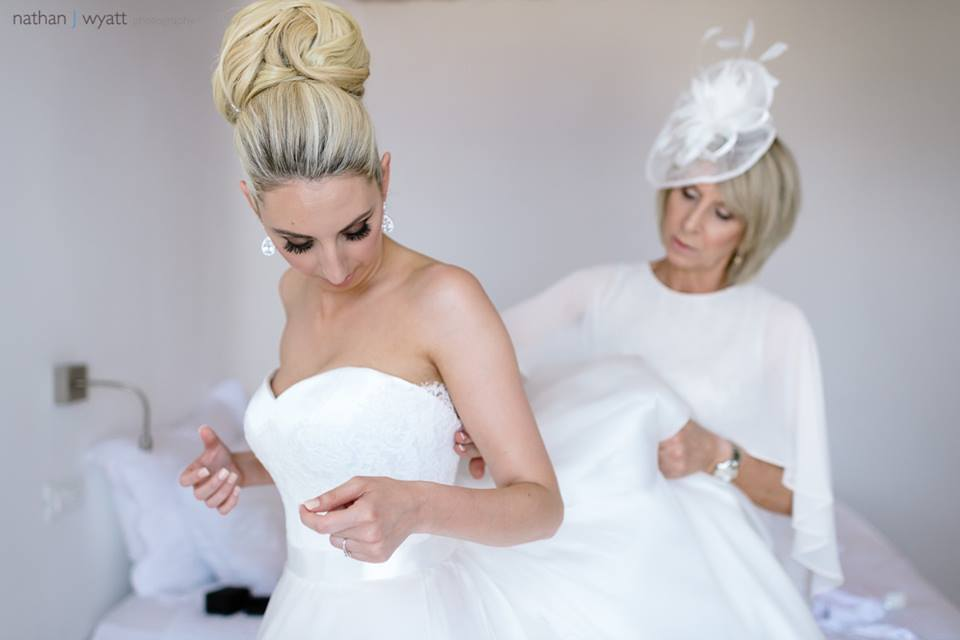Santorini Wedding - Hair and Makeup - Gemma Sutton26