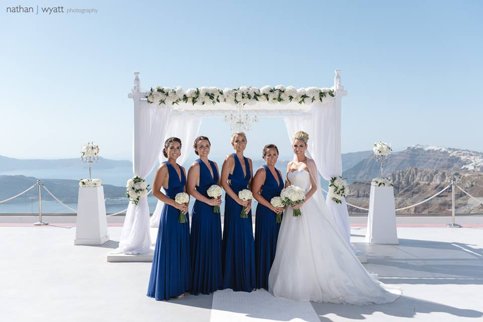 Santorini Wedding - Hair and Makeup - Gemma Sutton37