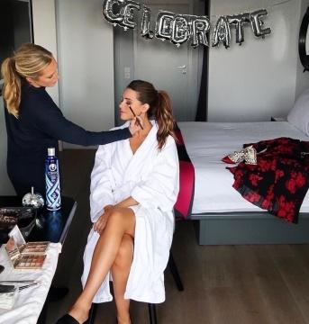 Fashion week makeup - Gemma Sutton
